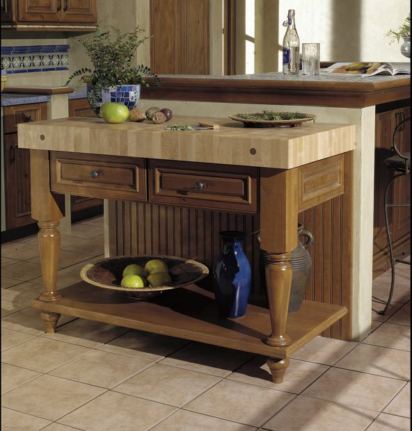 Kitchen Islands Options From May Supply And Yorktowne Cabinetry   May Supply